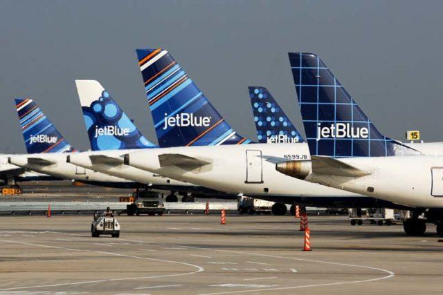 Toestellen van JetBlue (Bron: JetBlue)