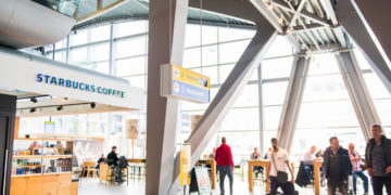 Terminal gebouw van Eindhoven Airport (landlide) (Bron: Eindhoven Airport)