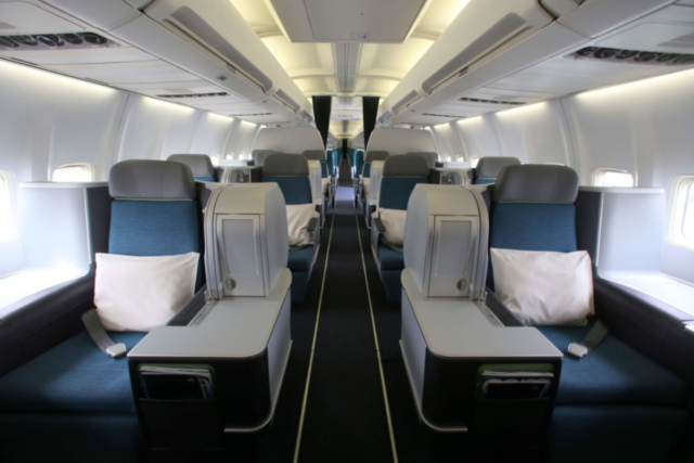 Air Lingus, AerSpace, business class