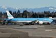 Nieuwe KLM Boeing 777 staat gereed voor aflevering