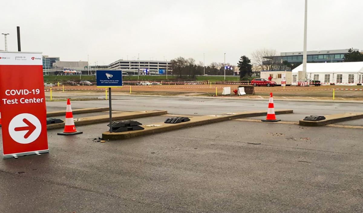 Vierde teststraat geopend bij Brussels Airport (Bron: Brussels Airport)