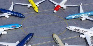 Vliegtuigen van TUI Group (Bron: TUI)