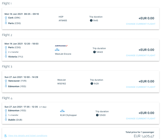 InsideDeals - Voordelig Business Class van Ierland naar Canada of VS met o.a. KLM & Air France