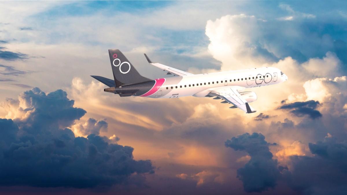EGO Airways wil met een vloot van Embraer toestellen gaan vliegen (Bron: EGO Airways op Facebook)