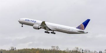 Boeing 777-300 van United Airlines (Bron: United Airlines)