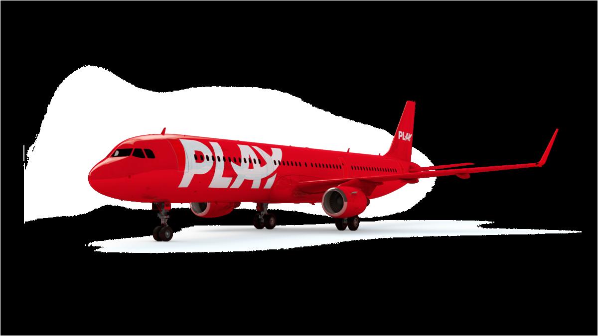 Het IJslandse Play wil gaan vliegen met een vloot van Airbus A321 toestellen (Bron: Play)