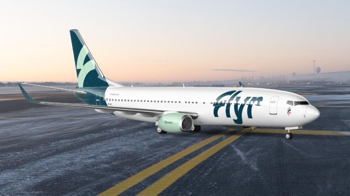 Boeing 737-800 van Flyer (Bron: Flyer)