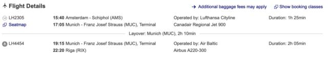 Lufthansa en airBaltic starten codeshare samenwerking