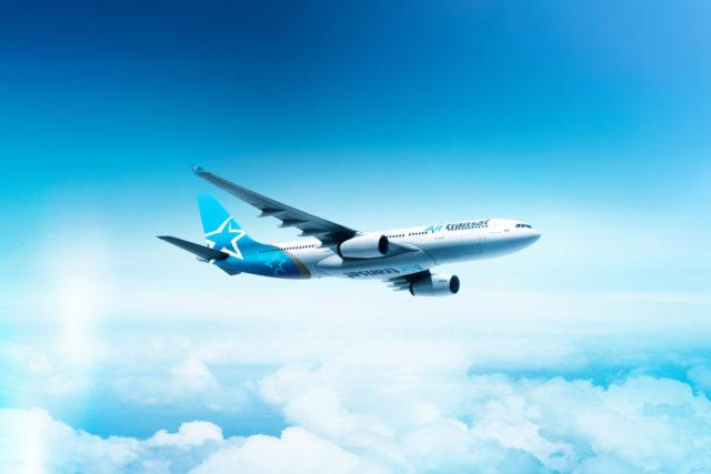 Toestel van Air Transat (Bron: Air Transat)