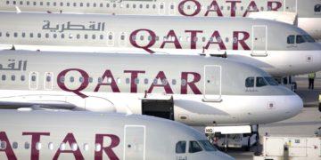Toestellen van Qatar Airways staan klaar op de luchthaven (Bron: Qatar Airways / Flickr)