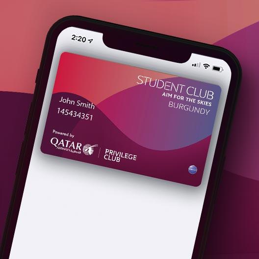 Qatar Airways Privilege Club introduceert Student Club (Bron: Qatar Airways)