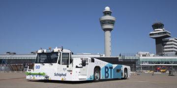 Flinke brandstofbesparing Schiphol door duurzaam taxiën
