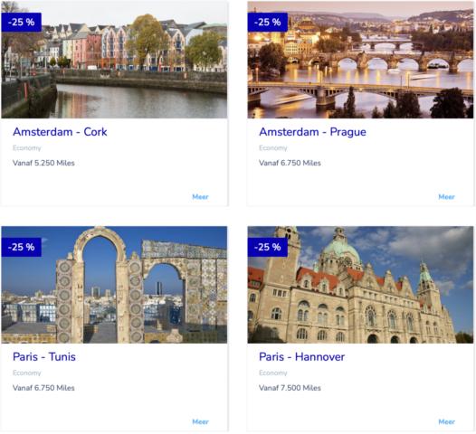 Flying Blue Promo Rewards April 2021 – Reis in Europa