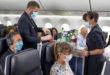 Air France crew aan het werk in de cabine (Bron: Air France)